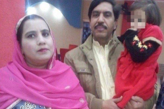 Mohammad Khalil e la moglie uccisi assieme alla figlia di 12 anni dalla polizia anti–terrorismo pakistana