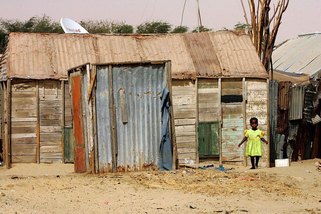 Gli ex schiavi che riescono a fuggire vivono in baracche