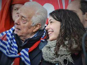 Il partigiano Moreno Cipriani e Giulia Romagnoli