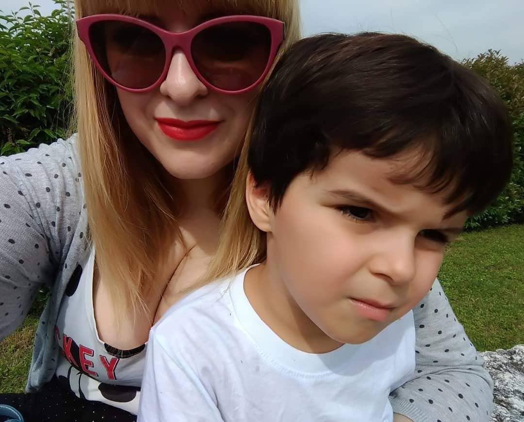 Daniele con mamma Claudia.