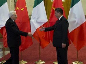 Il presidente della Repubblica Italiana, Sergio Mattarella, incontra il presidente della Repubblica Popolare Cinese, Xi Jinping