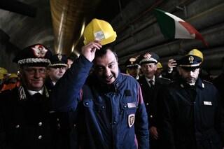 """Tav, stallo nel governo. Matteo Salvini: """"Di Maio dice no? Vediamo chi ha la testa più dura"""""""