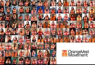 Perché tutti stanno stanno indossando un giubbotto di salvataggio: cosa è Orange Vest