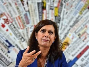 Laura Boldrini (Getty).