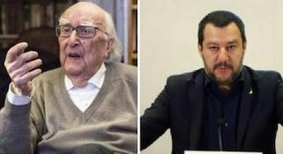 """Salvini contro Camilleri: """"Io gerarca fascista? È ridicolo"""""""