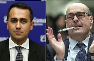 """Primarie Pd, Di Maio a Zingaretti: """"Ora introduciamo il salario minimo per tutti"""""""