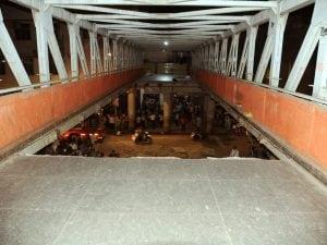 Ponte crollato in India (Twitter).