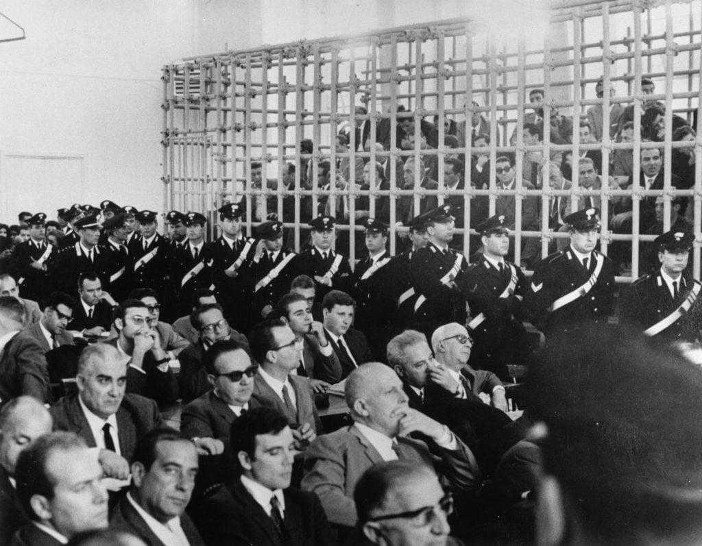 Processo di mafia negli anni Ottanta a Palermo