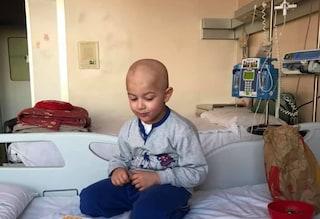 Gara di solidarietà per Saimon il guerriero, il bimbo di 4 anni che lotta contro il cancro