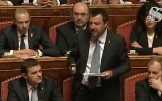 """Diciotti, Matteo Salvini: """"Continuerò a lavorare senza paura, ho difeso l'Italia e i miei figli"""""""