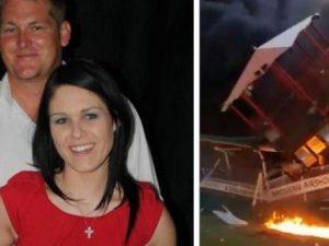 Litiga con la moglie, ruba l'aereo e tenta di ucciderla schiantandosi su di lei: muore solo lui