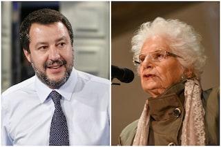 """Matteo Salvini: """"Liliana Segre merita tutto il mio rispetto, le chiederò un incontro"""""""