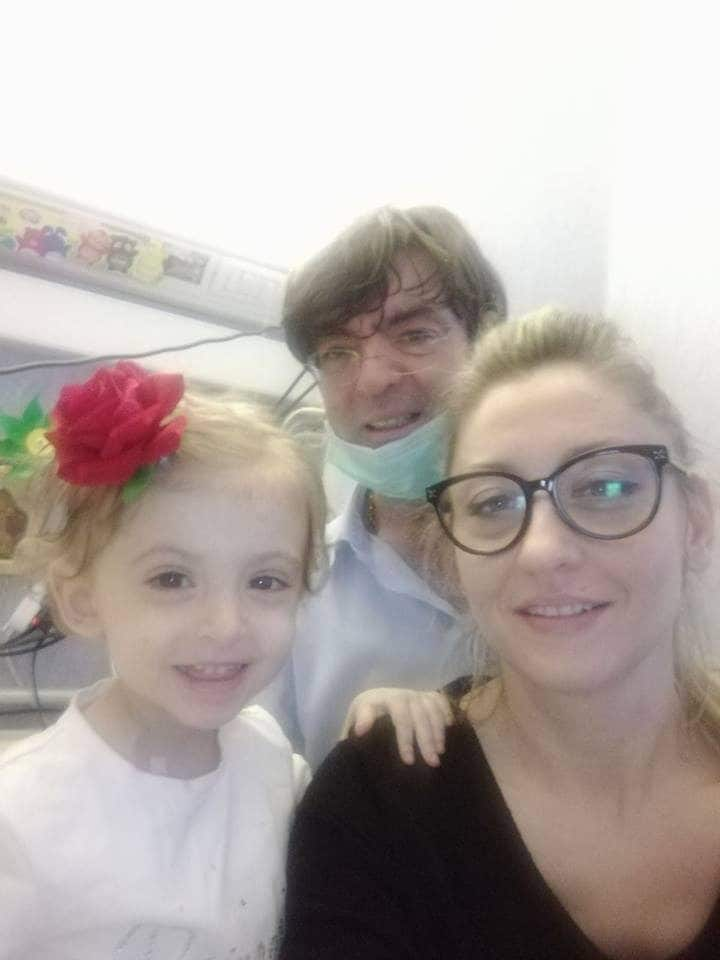 Elisa e i genitori