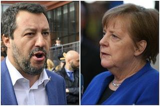 """Come Salvini vuole salvarsi dal processo su Gregoretti """"grazie"""" alla Merkel"""