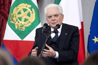 """25 aprile, Mattarella: """"Fu il nostro secondo Risorgimento, storia non si deve riscrivere"""""""