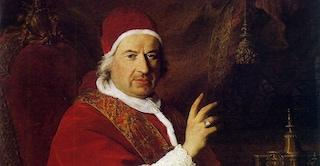 Benedetto XIV, l'ironico pontefice che propose di santificare le parolacce
