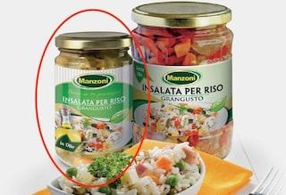 Pezzi di vetro nei vasetti, Carrefour ritira lotto di insalata per riso Grangusto
