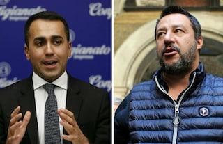 """Libia, Salvini: """"Sui confini decido io"""". Di Maio: """"Il mio scopo è proteggere l'Italia"""""""