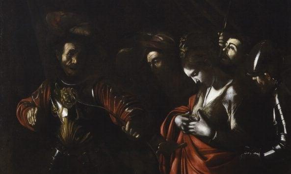 Caravaggio, Martirio di Sant'Orsola (1610), Palazzo Zevallos Stigliano, Napoli.