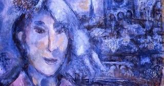 """Notre Dame, a Palazzo Pitti di Firenze l'autoritratto di Chagall con """"nostra signora"""""""