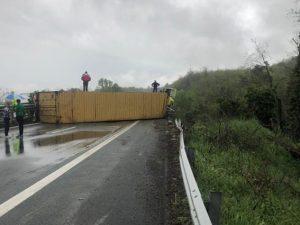 Incidente sull'A15 (Foto da PontremoliToday).