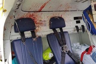 Padova, uccello si schianta contro l'elicottero: sfonda il parabrezza e colpisce il pilota