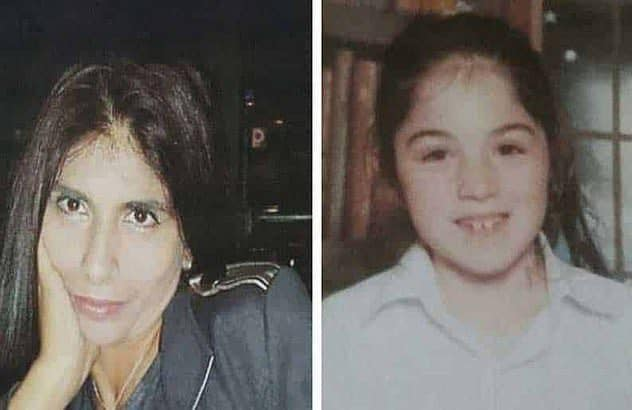 Livia Florentina Bunea a sinistra e la figlia Elena Natalia, di 8 anni, uccise da Nikos Metaxas