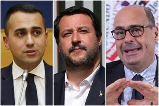 Sondaggi elettorali, continua calo della Lega: in recupero il M5s, ma il Pd resta avanti
