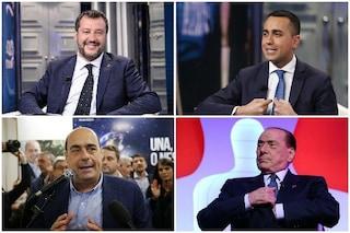 Sondaggi elettorali, la Lega torna a crescere e raggiunge il 34%: in calo Pd e M5s