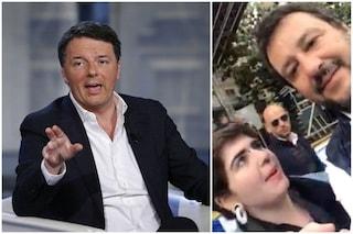 """Matteo Renzi: """"A che titolo Salvini fa cancellare video da telefono ragazza? In gioco libertà"""""""