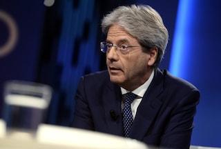 """Paolo Gentiloni avverte il governo: """"L'isolamento dell'Italia in Europa è pericoloso"""""""