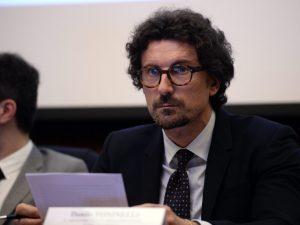 In foto: il ministro dei Trasporti e delle Infrastrutture, Danilo Toninelli.