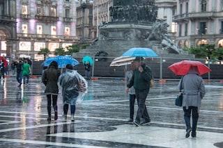 Meteo, maltempo in Italia: nuovo ciclone porta grandine e temporali