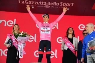 Giro d'Italia 2019, doppietta italiana: Masnada vince la 6a tappa, Conti in maglia rosa