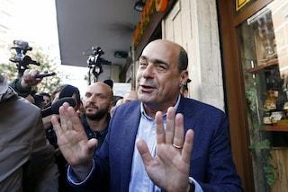"""Nicola Zingaretti: """"Governo è come Mark Caltagirone, litigano ma non esiste"""""""