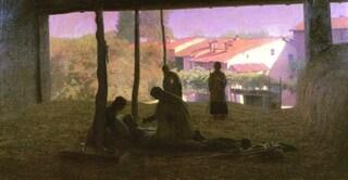 """""""Sul fienile"""" di Pellizza da Volpedo torna a casa: la mostra nello studio del pittore"""
