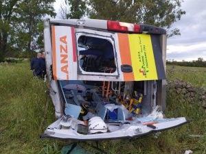 Immagine dell'incidente a Manduria (Facebook - Mario Balzanelli).