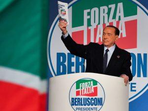 In foto: Silvio Berlusconi.