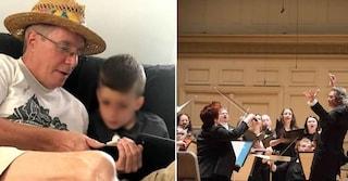 """""""Wow"""", la gioia del bimbo autistico a fine concerto di Mozart emoziona l'orchestra a Boston"""