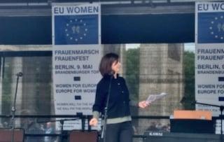"""Europee, Laura Boldrini: """"Ue è il più grande progetto di pace della storia, votiamo per difenderla"""""""