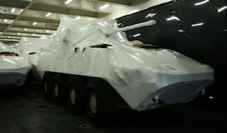 Porti chiusi alle armi: i portuali di Genova non faranno attraccare nave carica di carri armati