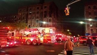 """New York. """"Il fuoco bruciava, li ho sentiti urlare"""": famiglia sterminata nell'incendio"""