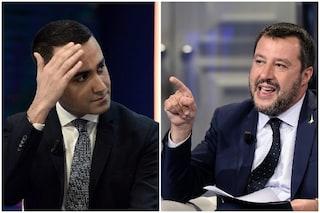 """Abuso d'ufficio, Luigi Di Maio contro Matteo Salvini: """"Meno stronzate e lavora di più"""""""