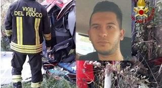 """Diego muore a 23 anni nello schianto, lo strazio del Papà vedovo: """"Siamo famiglia sfortunata"""""""