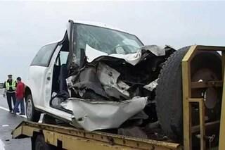 Fermo. Incidente devastante. Fiat Punto sbalzata fuori strada, addio Mariano