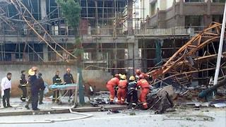 Cina, crolla il tetto di un locale notturno: almeno 3 morti e 86 feriti