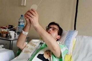 Michele corona il suo sogno: diventa prete nonostante sia malato terminale