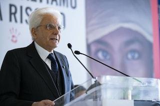 """Save the Children, Sergio Mattarella celebra il centenario: """"Svolta di umanità contro la guerra"""""""