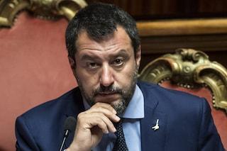 """Mes, Salvini a Conte: """"Si vergogni. Dovrà rendere conto agli italiani, le bugie hanno gambe corte"""""""