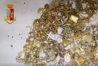 Scoperto nel bosco il bottino della banda del Nord Est: trovati gioielli per 1 milione di euro